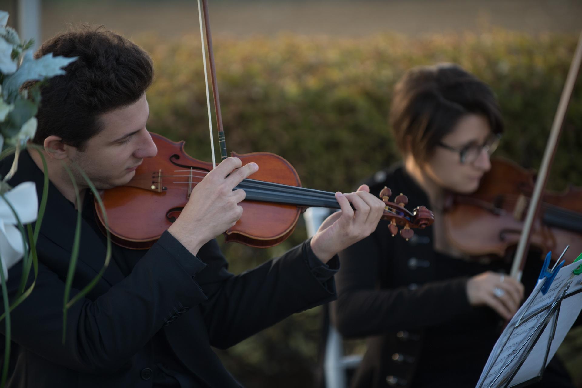 Novensemble Musica dal vivo Bologna Daniele Negrini Violino
